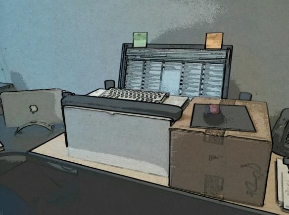 DIY Tabletop Standing Desk