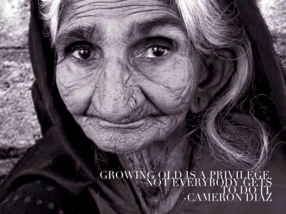 Cameron Diaz on Growing Old